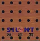 """""""赛音特""""木质穿孔吸音板www.ehangtech.com"""