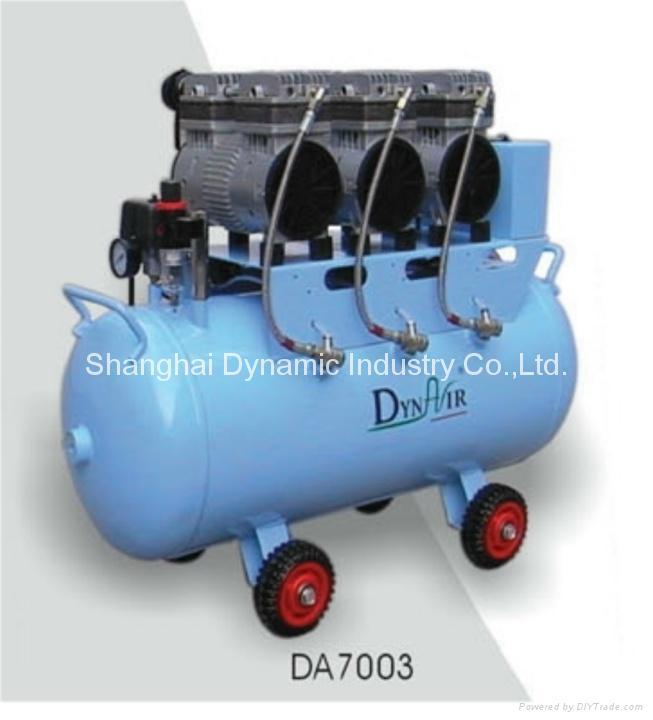 牙科專用無油空氣壓縮機DA7003