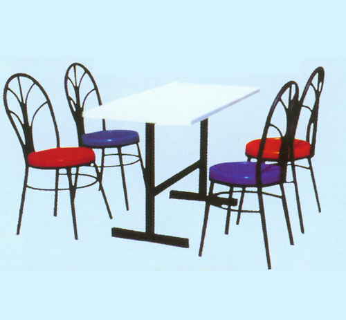 孔雀分体快餐桌.