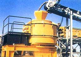 大理石碎石机,复合式粉碎机,鑫海制砂机,制砂设备20081102