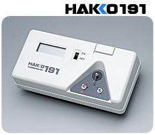 供應日本HAKKOFG-100溫度計,191溫度計,焊鐵測試儀20081105