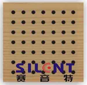 """""""赛音特""""木质穿孔装饰吸音板—河南一航科技有限公司"""