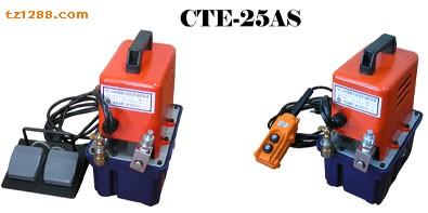 電力液壓機工具|供應臺灣超高壓泵浦|電動泵CTE-25AS20081107