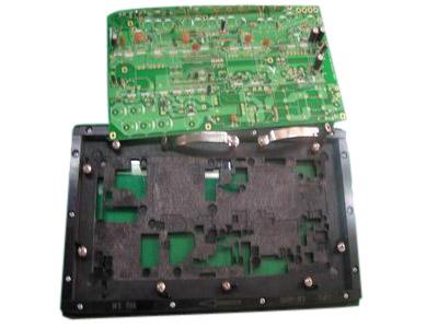 电板构造设计矢量图