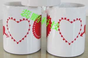 熱轉印設備及水晶白胚、米雕水晶瓶
