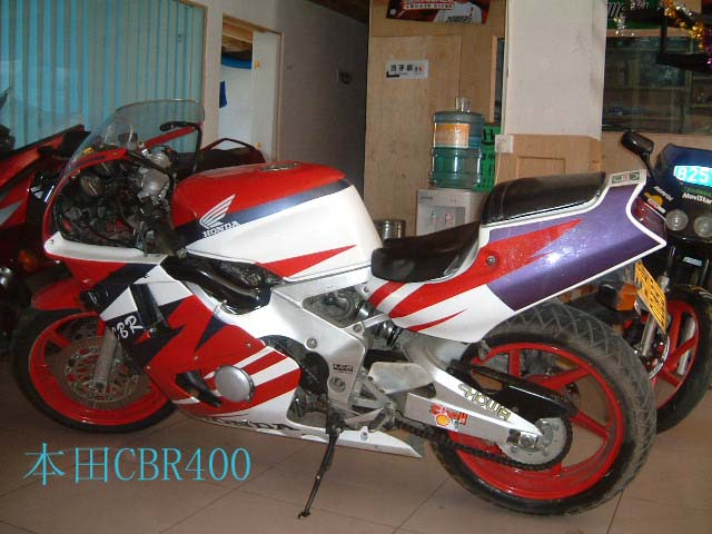 超低價銷售 本田CBR400摩托車僅售3100 聯系電話:4006578715