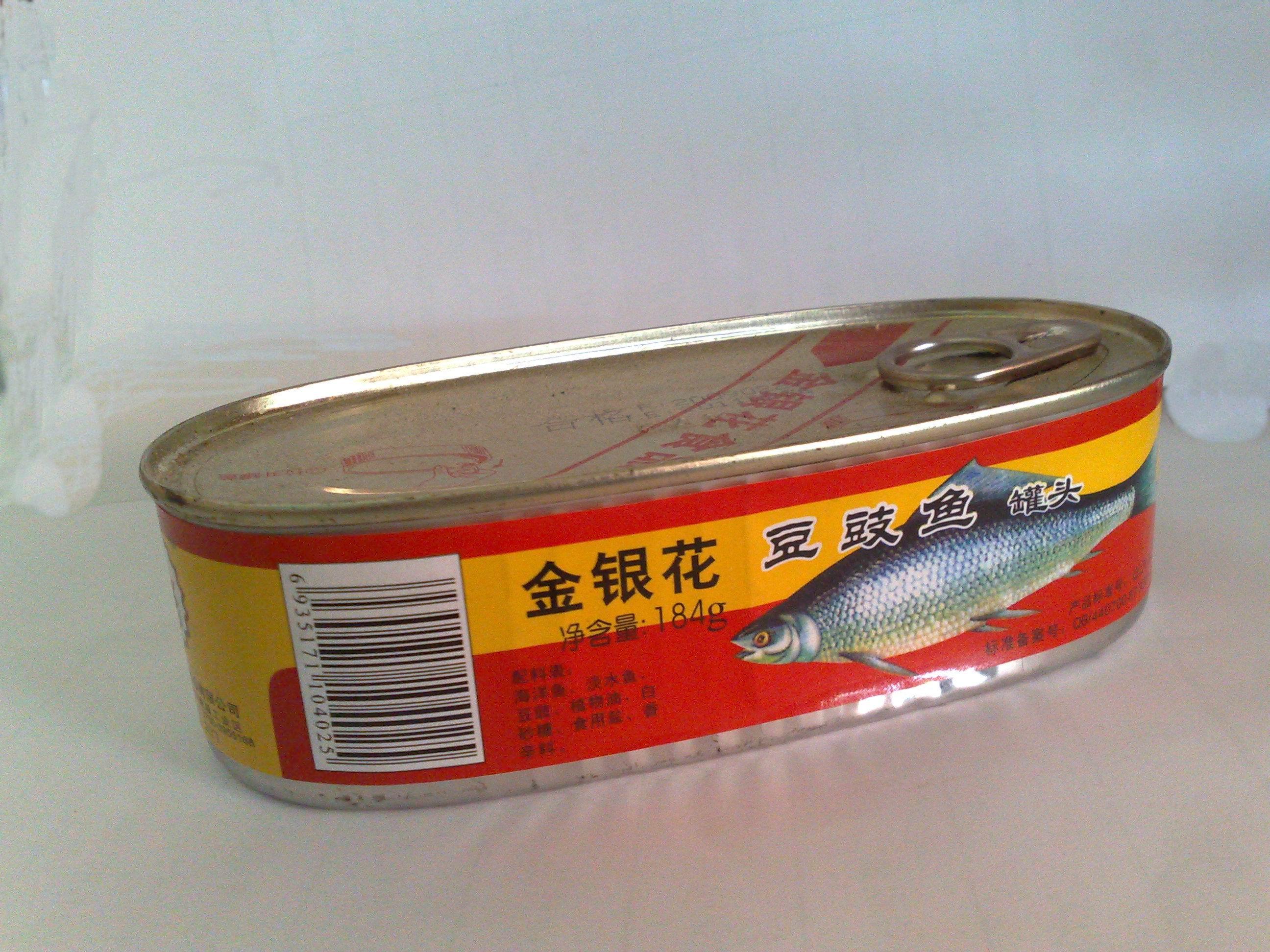 金银花豆豉鱼