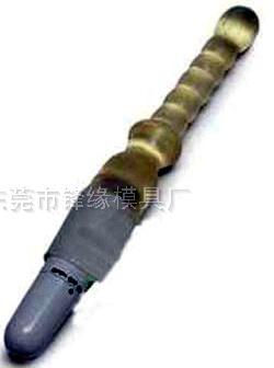 震动按摩笔  TPR性用品铜模