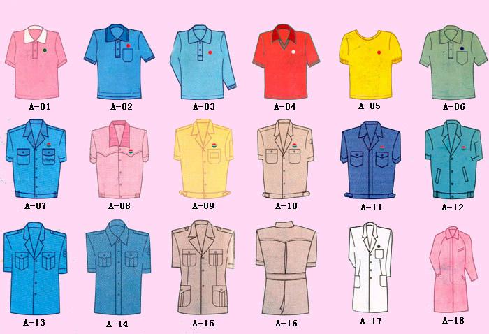 服装结构图1