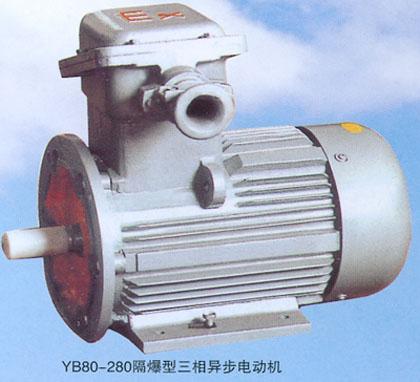YB80-280型隔爆型三相异步电动机