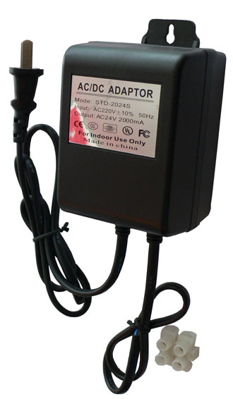 STD-2424SK 24VAC轉24VDC3A壁掛式穩壓電源