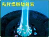 秸稈制作蜂窩煤技術