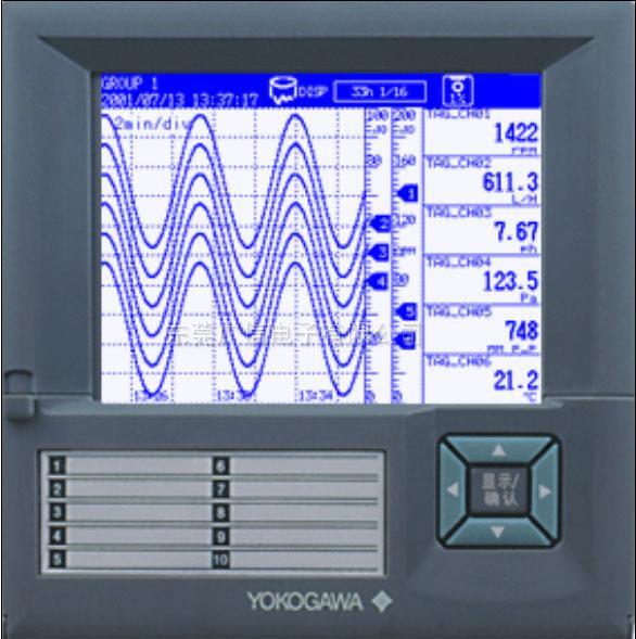代理銷售AX104橫河記錄儀