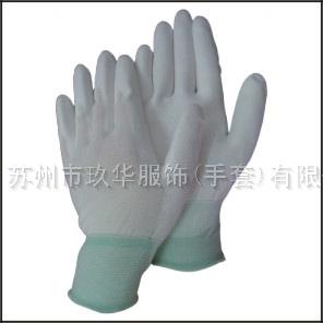 13针尼龙PU涂层手套