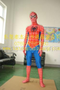 厂家低家供应卡通服装-蜘蛛侠